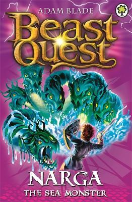 Beast Quest: Narga the Sea Monster Cover Image