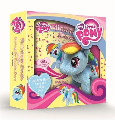 Rainbow Dash and the Daring Do Double Dare Book and Toy Gift Set