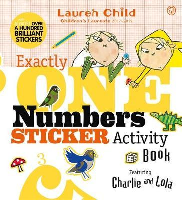 Charlie and Lola Exactly One Numbers Sticker Activity Book