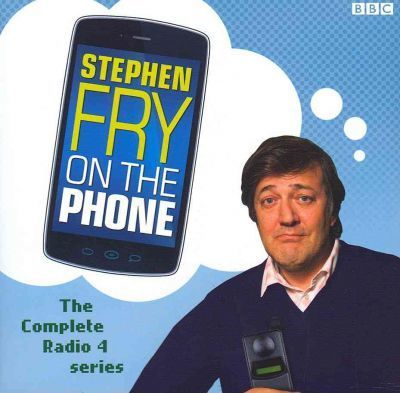Stephen Fry on the Phone