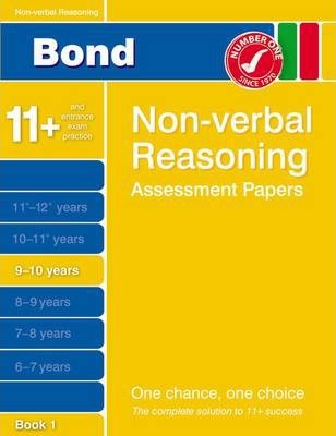 Bond Non-Verbal Reasoning Assessment Papers 9-10 Years Book 1