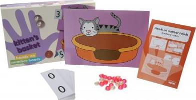 Hands-On Number Bonds Set 2: Frogs and Kittens