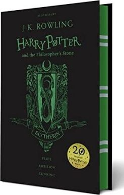 Harry Potter and the Philosopher's Stone - Slytherin Edition Cover Image