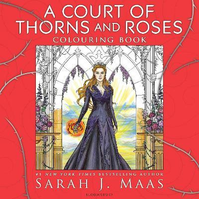 A Court Of Thorns And Roses Colouring Book Sarah J Maas