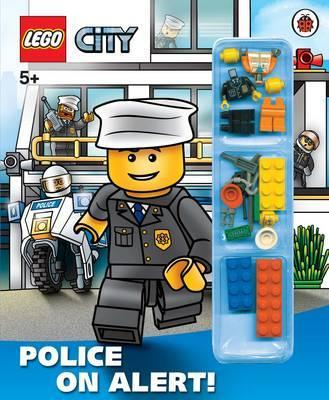Lego City Police On Alert Storybook With Minifigures And