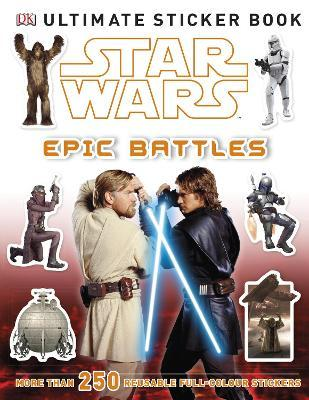Star Wars Epic Battles Ultimate Sticker Book
