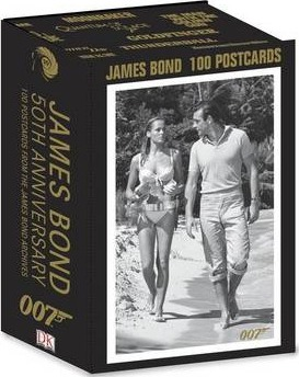 James Bond 50th Anniversary Postcards
