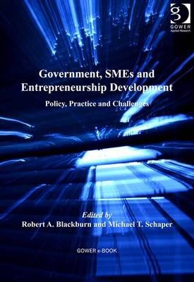 Government, SMEs and Entrepreneurship Development