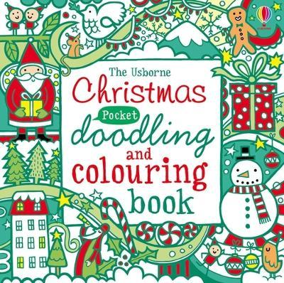Pocket Doodling and Colouring Christmas