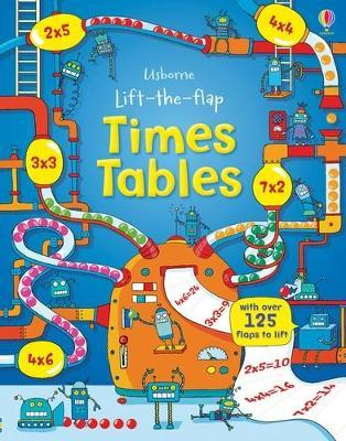 Lift the Flap Times Tables Book : Rosie Dickins : 9781409550242