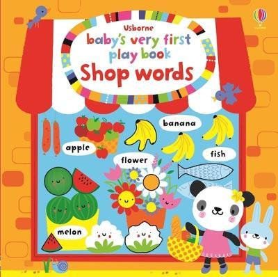Ba's Very First Play Book Shop Words