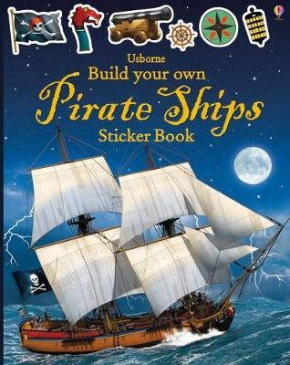 Build Your Own Pirate Ships Sticker Book