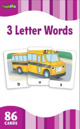 3 Letter Words (Flash Kids Flash Cards)
