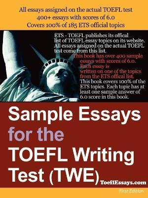 Essay Writing Paper Sample Essays For The Toefl Writing Test Twe Comparative Essay Thesis Statement also What Is A Thesis Statement In A Essay Sample Essays For The Toefl Writing Test Twe  Anonymous  Thesis Statement Examples For Essays
