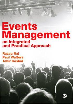 Events Management  An Integrated and Practical Approach