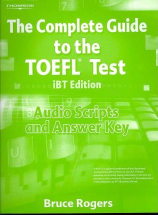 Complete Guide to TOEFL Audio Scripts with Answer Key