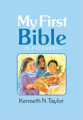 My First Bible In Pictures, Baby Blue