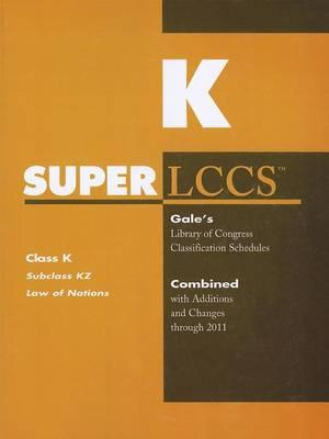 SUPERLCCS, Class K: Subclass KZ: Law of Nations