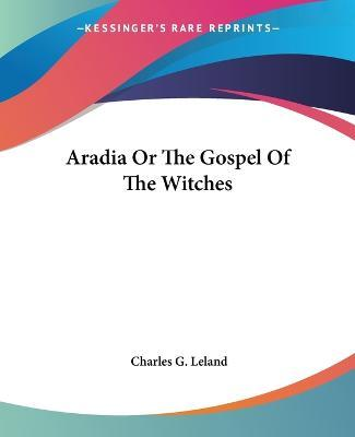 aradia gospel of the witches pdf