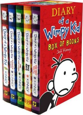 Diary of a wimpy kid box of books 1 5 jeff kinney 9781419701535 diary of a wimpy kid box of books 1 5 solutioingenieria Images
