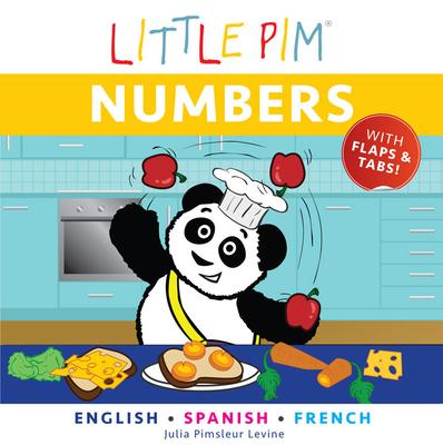 Little Pim: Numbers - English/Spanish/French