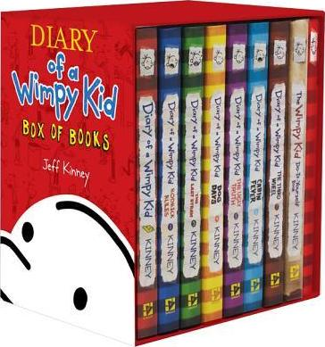 Diary of a wimpy kid box of books jeff kinney 9781419711879 diary of a wimpy kid box of books solutioingenieria Images