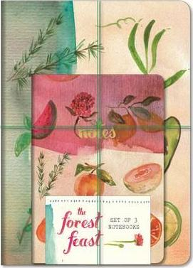 Forest Feast Notebooks (Set of 3)