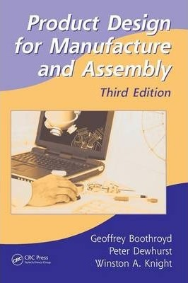 Product Design For Manufacture And Assembly Geoffrey Boothroyd Pdf