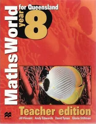 MathsWorld 8 for Queensland