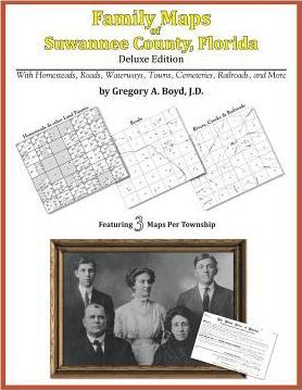 Family Maps of Suwannee County, Florida