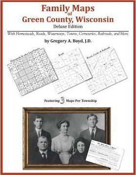 Family Maps of Green County, Wisconsin