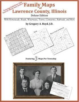 Family Maps of Lawrence County, Illinois