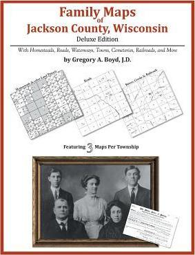 Family Maps of Jackson County, Wisconsin