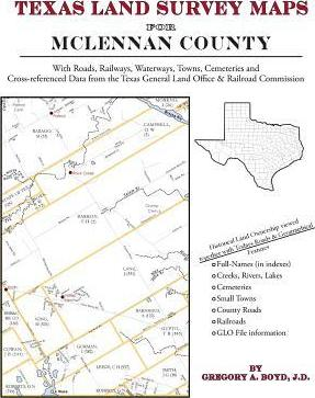 Book PDF Texas Land Survey Maps for McLennan County