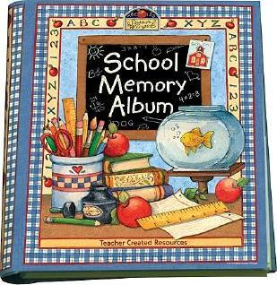 School Memory Album : A Collection of Special Memories, Photos, and Keepsakes from Kindergarten Through Sixth Grade