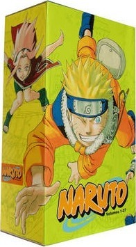 Naruto Box Set 1 Cover Image