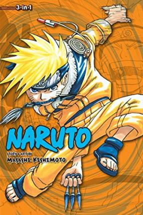 Naruto (3-in-1 Edition), Vol. 2 Cover Image