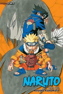 Naruto: 3-in-1 Edition 3 Cover Image