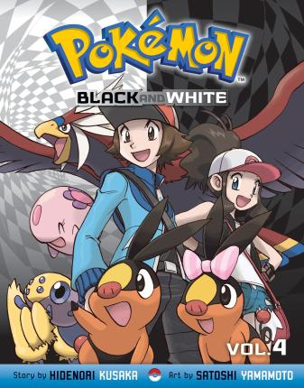 Pokemon Black and White, Vol. 4