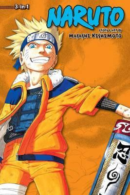 Naruto (3-in-1 Edition), Vol. 4  Includes vols. 10, 11 & 12