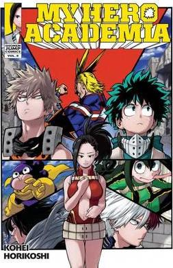 My Hero Academia, Vol. 8 Cover Image