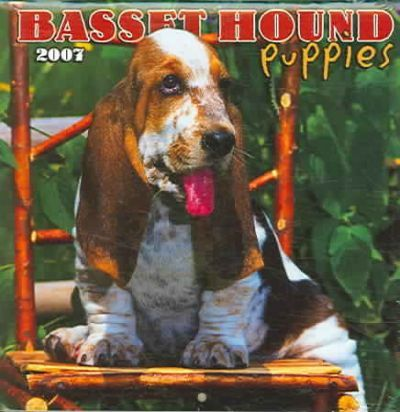 Basset Hound Puppies 2007 Mini Calendar