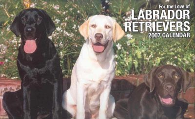 For the Love of Labrador Retrievers 2007 Deluxe Calendar