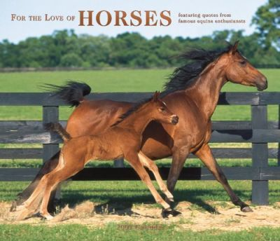 For the Love of Horses 2007 Deluxe Calendar