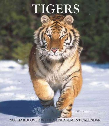 Tigers 2008 Hardcover Weekly Engagement