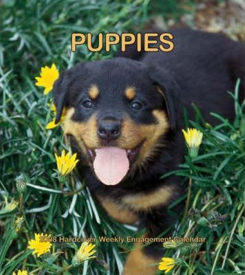 Puppies 2008 Hardcover Weekly Engagement