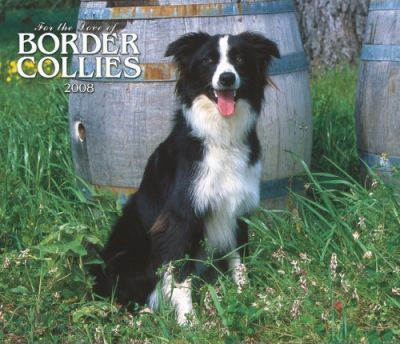 Border Collies, for the Love of 2008 Deluxe Wall