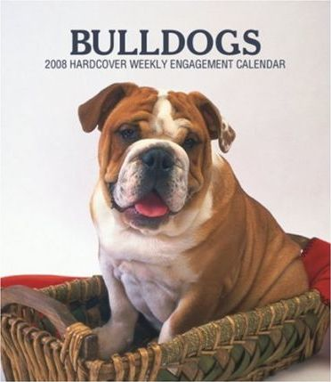 Bulldogs 2008 Hardcover Weekly Engagement