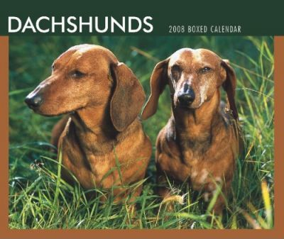 Dachshunds 2008 Boxed