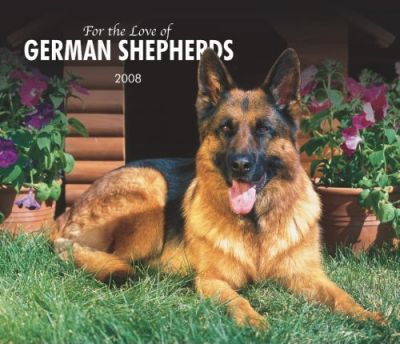 German Shepherds, for the Love of 2008 Deluxe Wall